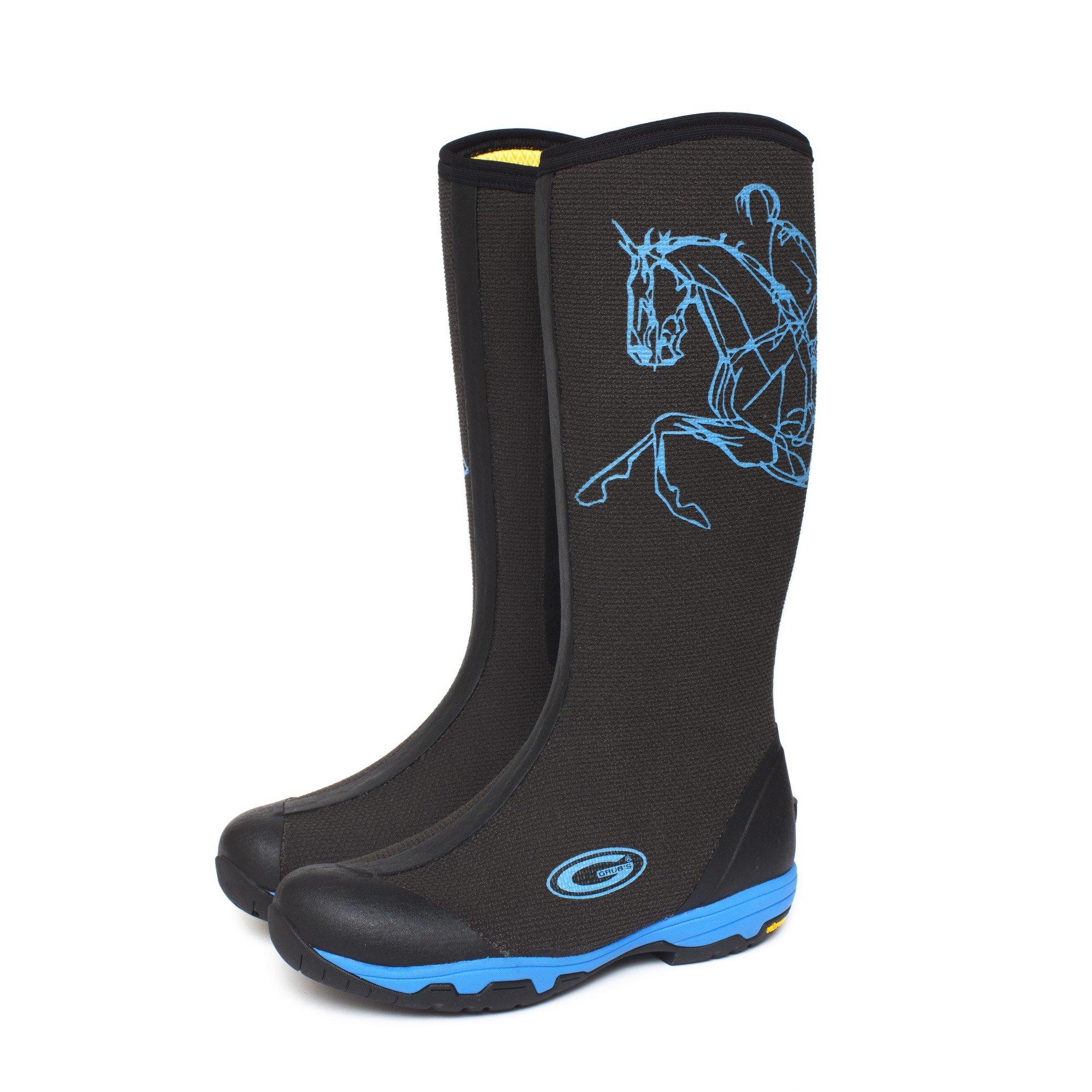 Grubs Womens/Ladies Ramilo SE Boots (10 US) (Black/Blue)