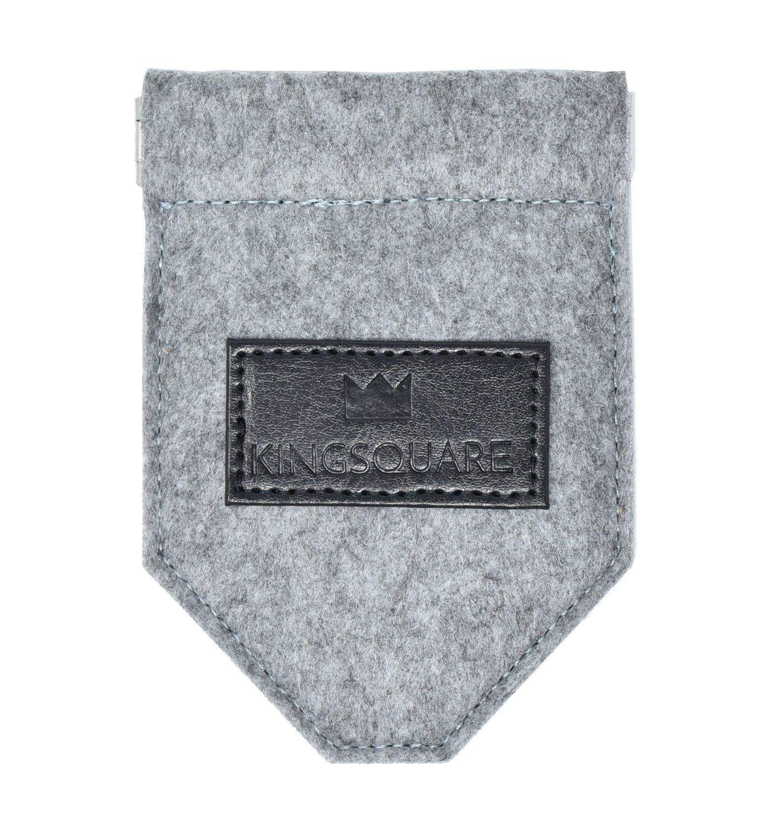Kingsquare Pocket Square Holder - Men's Suit/Blazer/Coat Pocket Square Keeper