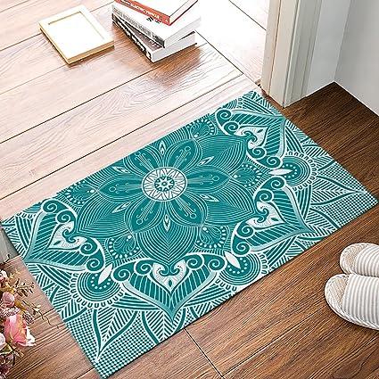 Turquoise Door Mat Amp Cursive Welcome Coir Doormat Sc 1 St