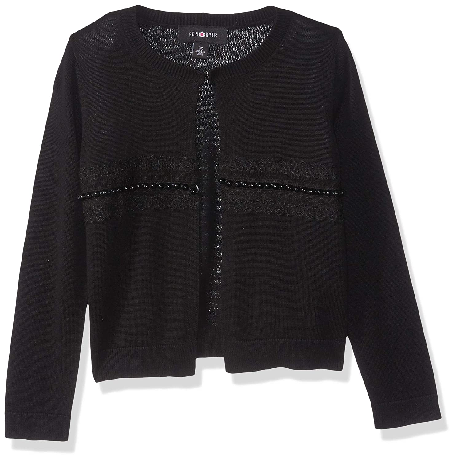 Amy Byer Girls Dressed Up Cardigan Sweater