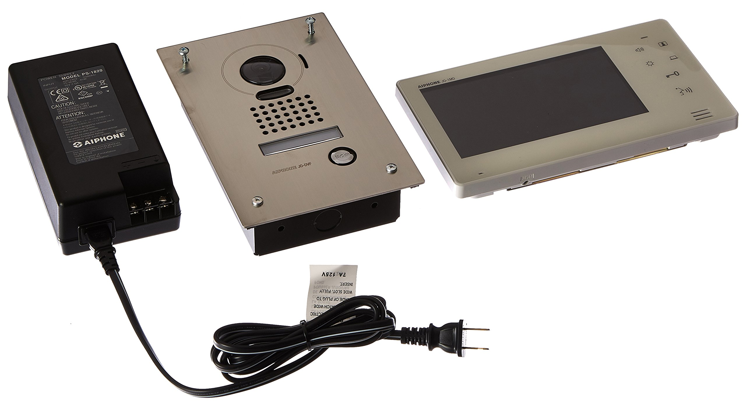 Aiphone Corporation JOS-1F Box Set for JO Series, Hands-Free Video Intercom
