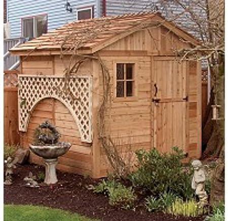 Cobertizo de madera para almacenamiento al aire libre – Gran ...