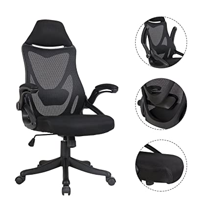 Racing Mesh Task Chair Breathable Office Adjustable Swivel With Plastic Base For Dorm