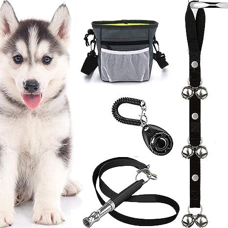 Kit 4 en 1 para entrenamiento de cachorros – control de corteza, silbato ultrasónico,