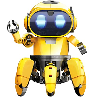 "Elenco Teach Tech ""Zivko The Robot"", Interactive A/I Capable Robot with Infrared Sensor, STEM Learning Toys for Kids 10+: Toys & Games"