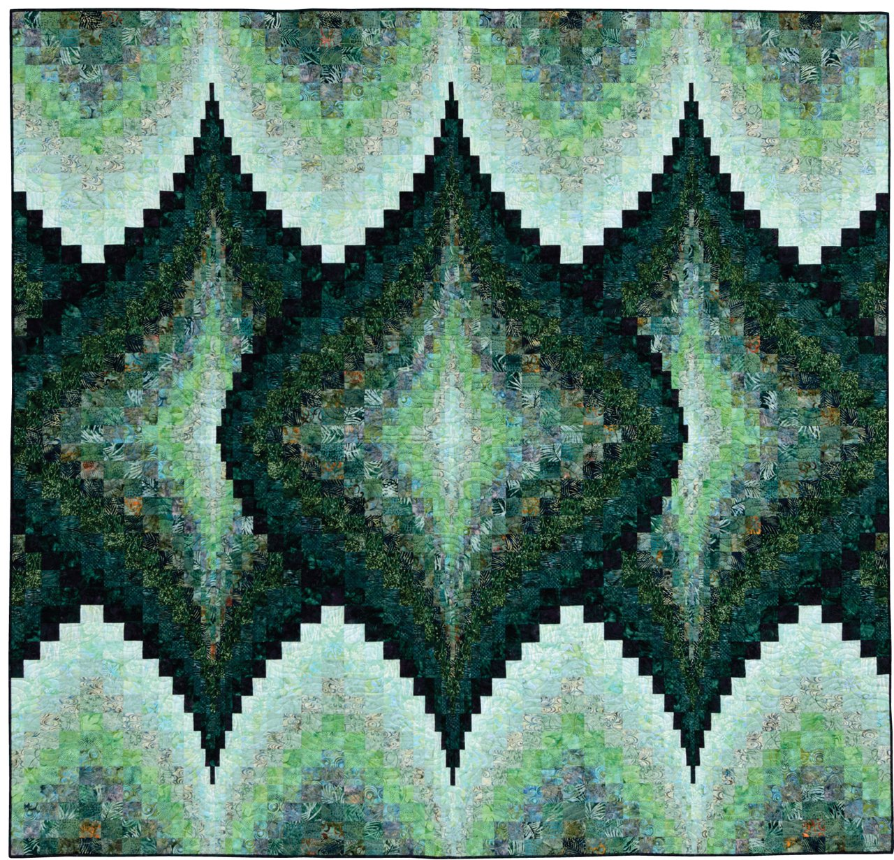 Twisted Bargello Quilt Pattern Free New Inspiration Ideas