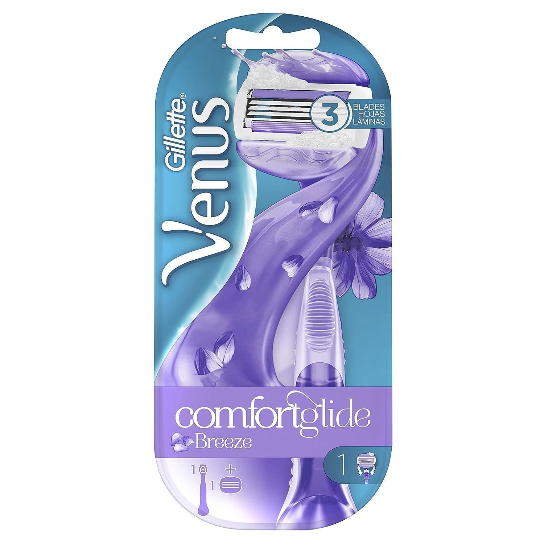 Venus ComfortGlide Spa Breeze Maquinilla 2-en-1, con Barras de Gel de Depilación, sin Necesidad de Gel de Depilación Procter & Gamble 3532702 Embrace Sensitive