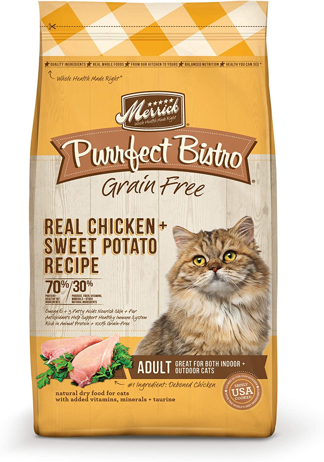 Merrick Purrfect Bistro Grain Free Dry Cat Food
