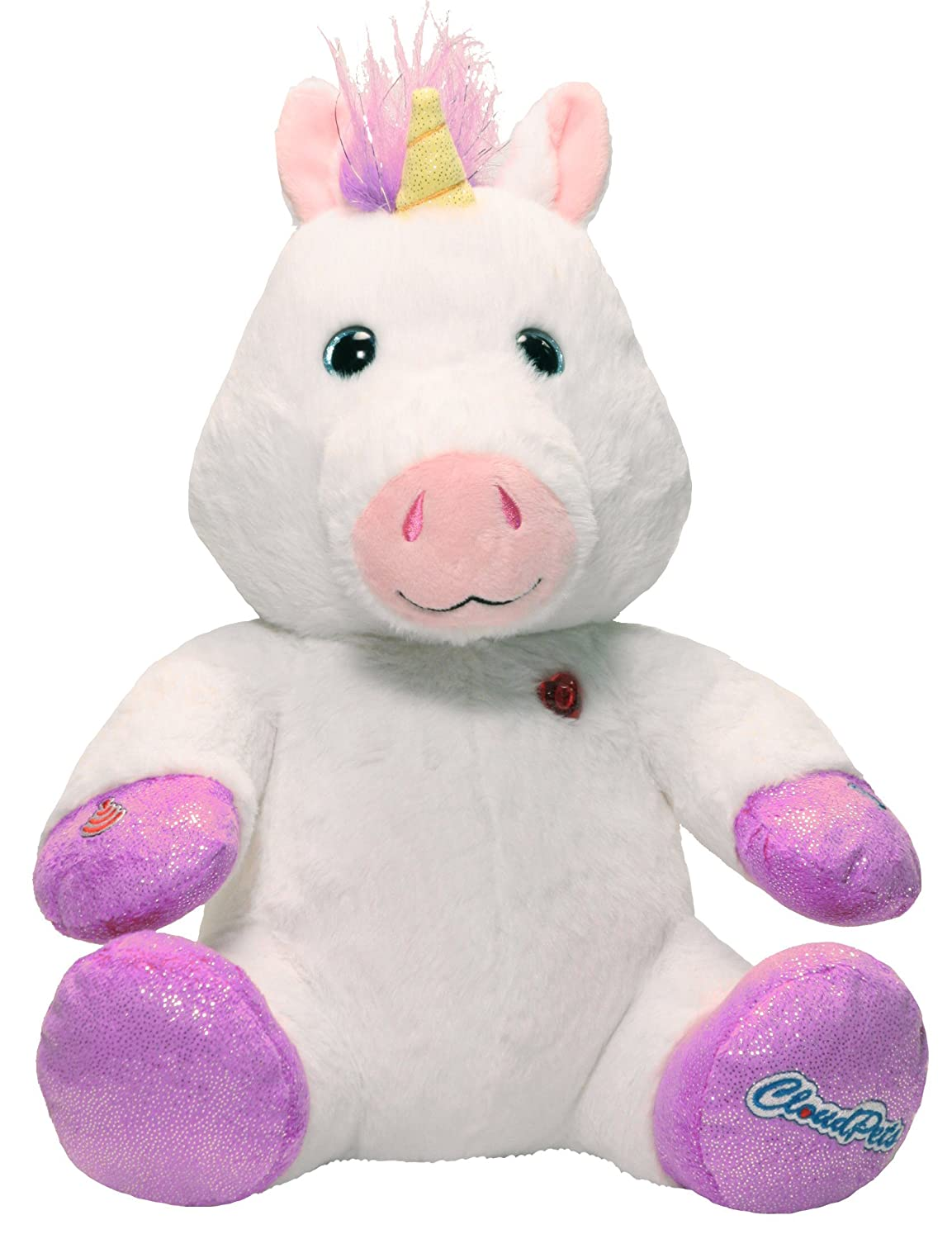 Amazon.com: CloudPets 12in Talking Unicorn - The Adorable, Huggable Pet to Keep in Touch Through the Cloud, Recordable Stuffed Animal: Toys & Games