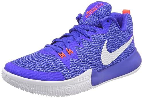 Nike Zoom Live II, Zapatos de Baloncesto para Hombre, Azul
