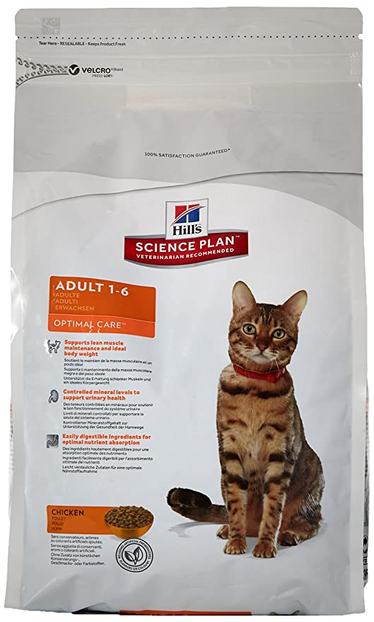 Hill`s Science Plan Alimento con Sabor a Pollo para Gatos Adultos - 2 kg