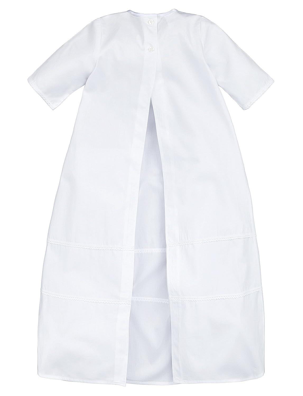 Hechas 100/% de algod/ón. ideal para ni/ños y ni/ñas unisex Bautizo Simon con lazo blanco