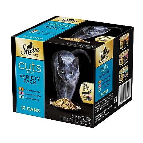 Sheba Cortes en Gravy Conservas Comida para Gatos