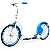 """Current Coasters Foldable Kickbike Scooter for Teens and Adults with 20"""" Wheels"""