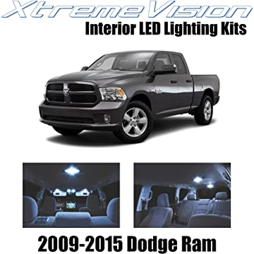 XtremeVision Dodge Ram 2009-2015 (6 Pieces) Cool White Premium Interior LED Kit