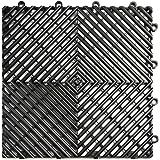 Interlocking Perforated Drain Floor Tile 30 Sq Ft