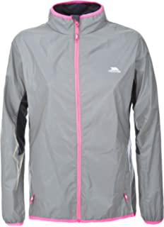 Trespass Women s Lumi Active Windproof and Waterproof Cycling and Running  Outdoor Luminous Jacket da3db10ff