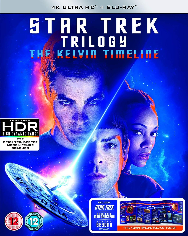 Star Trek (2009) / Star Trek Into Darkness / Star Trek Beyond - Kelvin Timeline (6 Blu-Ray) [Edizione: Regno Unito] [Italia] [Blu-ray]