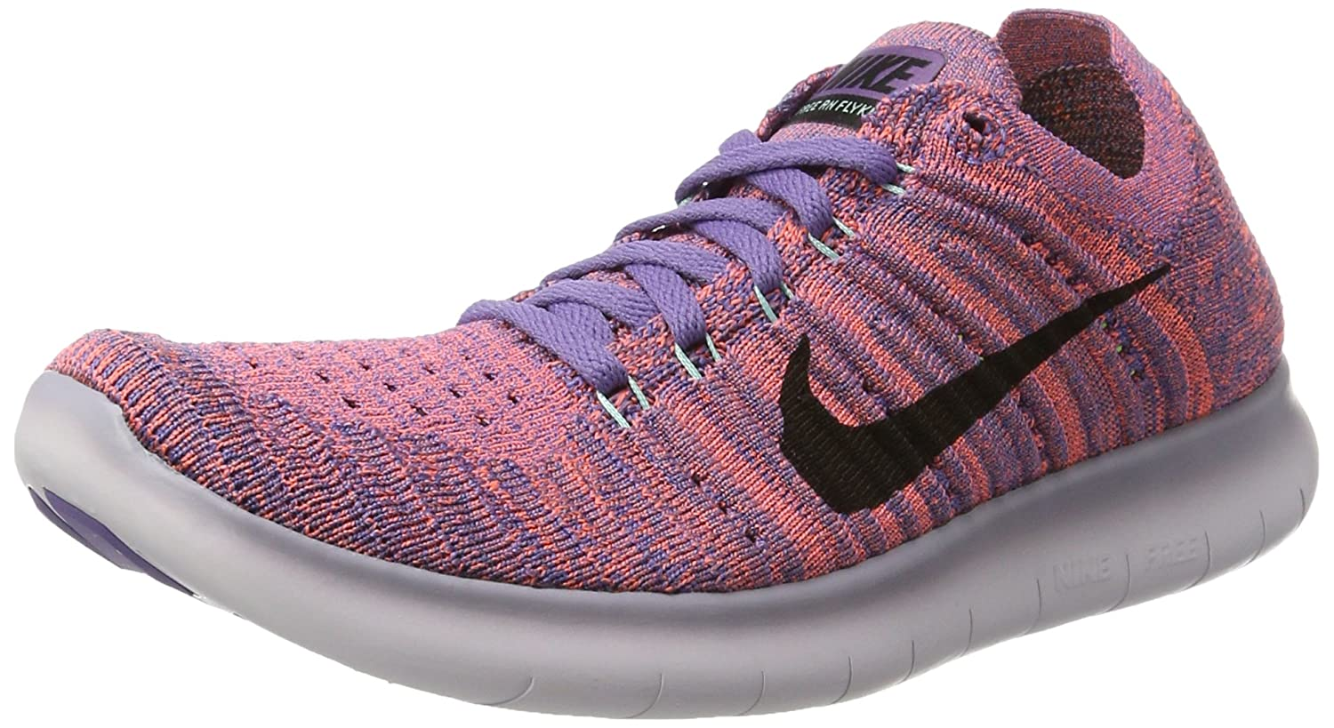 NIKE Women's Free RN Flyknit 2017 Running Shoe B01N5XFO94 6.5 B(M) US|Purple Earth/Black