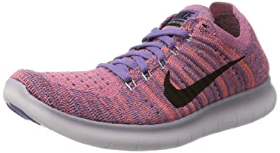 2a194277061aa Image Unavailable. Image not available for. Color  Nike Women s Free Running  Motion Flyknit Shoes