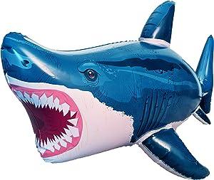Universal Specialties 50 Inch Extra Long Inflatable Shark Vinyl Megalodon Shark