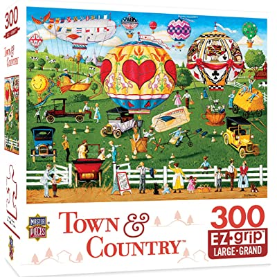 Town & Country - Flights of Fancy 300pc EzGrip Puzzle: Toys & Games