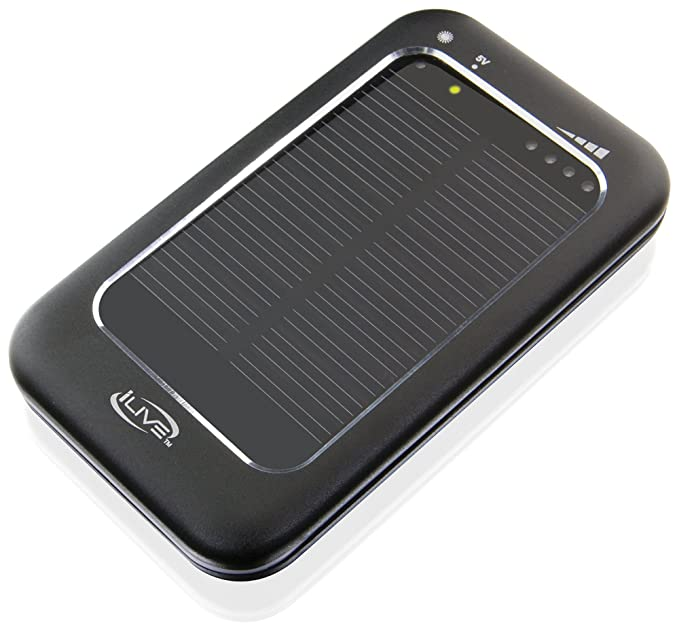 Amazon.com: iLive Solar Powered Cargador Universal para ...