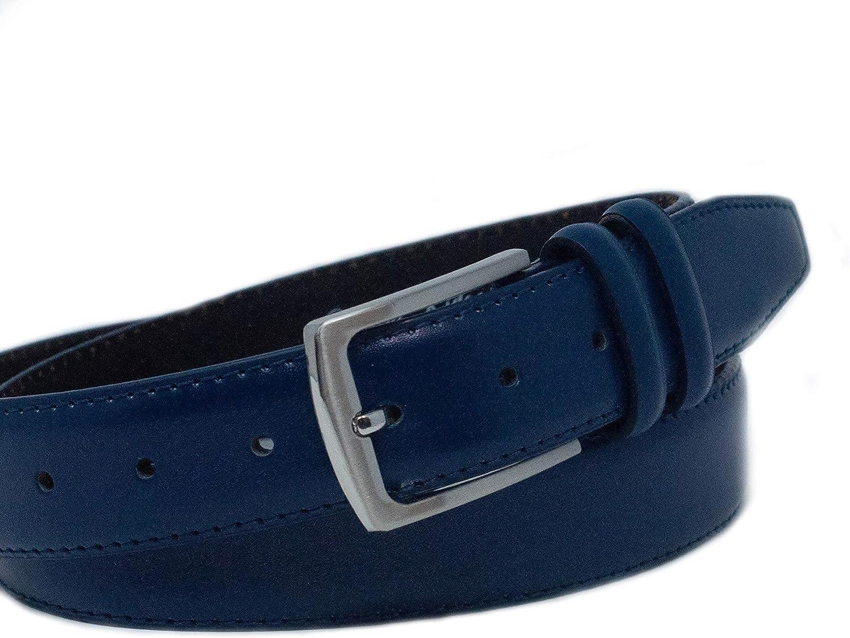 Ashford Ridge Cintura in pelle doppia fibbia da uomo 33mm