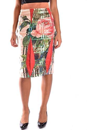 Yohan Kim Mujer MCBI351004O Multicolor Poliéster Falda