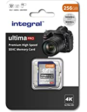 256GB SD Card 4K Ultra-HD Video Premium High Speed Memory Card SDXC Up To 100MB/S V30 UHS-I U3 C10, by Integral
