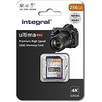 256GB SD Card 4K Ultra-HD Video Premium High Speed Memory SDXC Up To 100MB/S V30 UHS-I U3 C10, by Integral