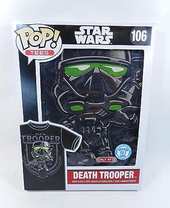 Amazon.com: Funko Pop! Tees Star Wars Death Trooper Short ...