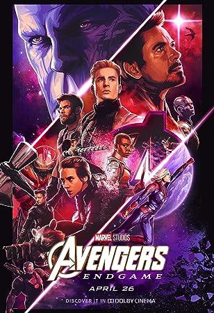 Avengers Endgame 81 Movie Poster Canvas Picture Art Print A0 A1 A2 A3 A4