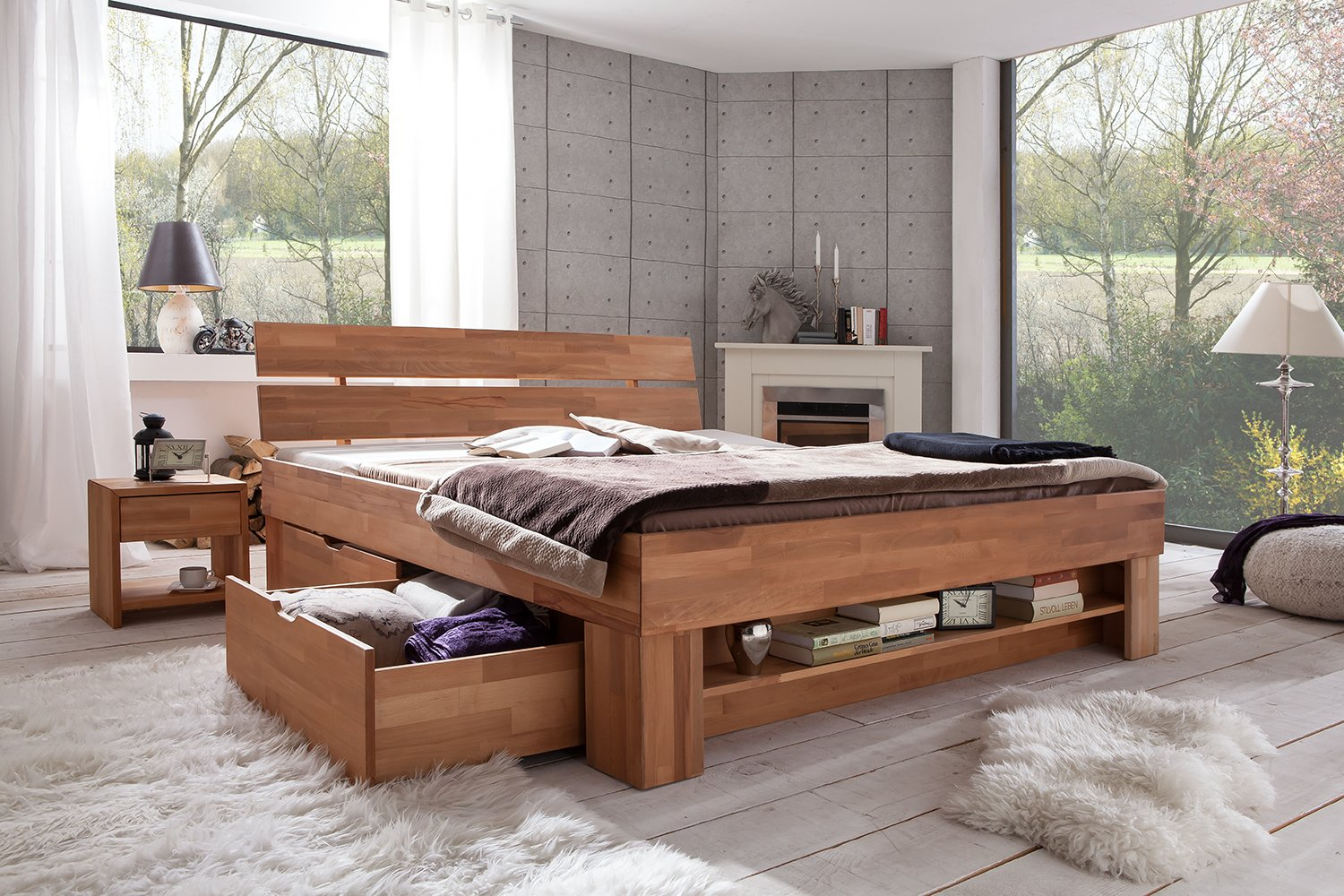 linea natura schlafzimmer ideen schlafzimmer gem tlich angebote komplett g zze bettw sche relax. Black Bedroom Furniture Sets. Home Design Ideas