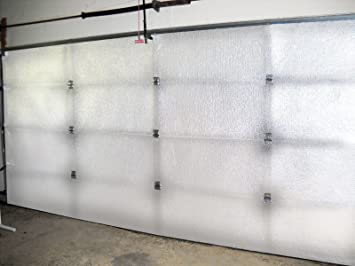 NASA Tech White Reflective Foam Core 2 Car Garage Door Insulation ...