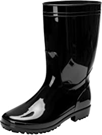 Men S Rain Boots Amazon Com