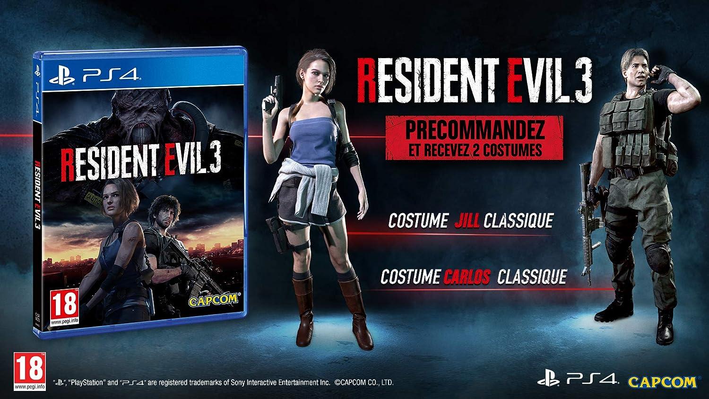 Resident Evil 3 - Edition lenticulaire Exclusivité Amazon ...