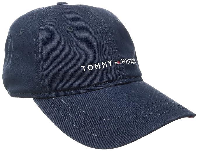 43219eb25 Tommy Hilfiger Men's Logo Dad Baseball Cap