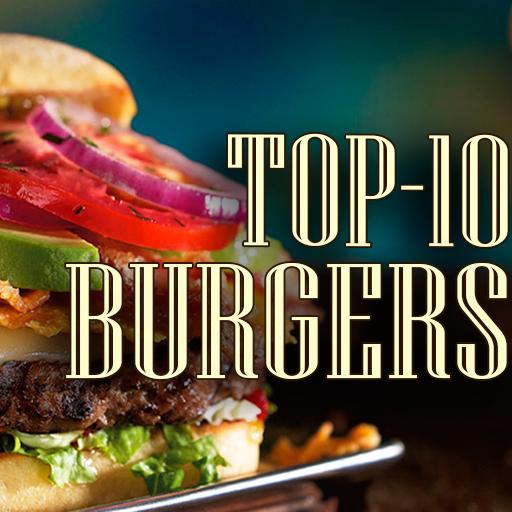 Best Burgers. Top-10 most popular recipes