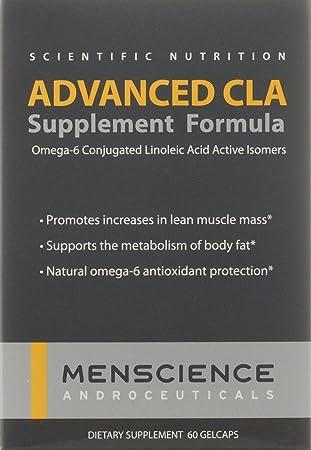 MenScience Androceuticals Advanced CLA Supplement Formula