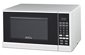 Sunbeam SGCMSR09WE-09 0.9 cu. Ft. Microwave Oven, White