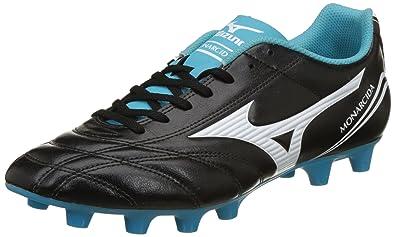 8f1125140345 Mizuno Men's Monarcida Fs Md Black Football Boots - 10 UK/India (44.5 EU