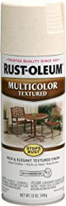 Rust-Oleum 239121 Stops Rust Multi-Color Textured Spray Paint, 12 oz, Caribbean Sand