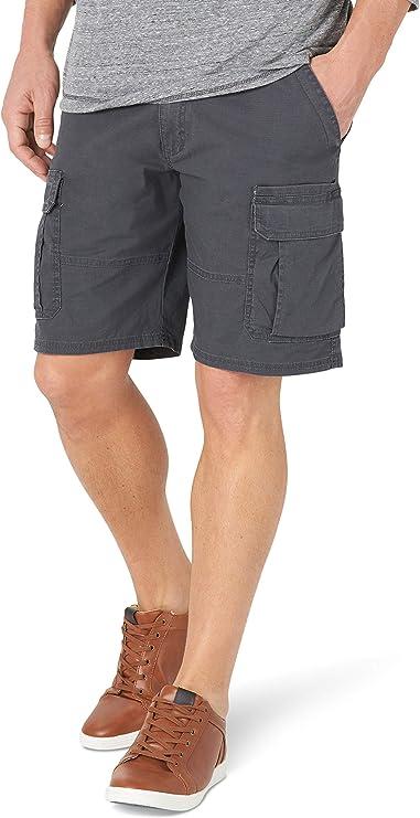 Mens Wrangler Camo FLEX Cargo Shorts Relaxed Fit Above Knee ALL SIZES 34 Thru 48