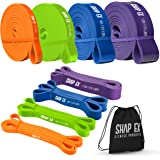 ShapEx Pull Up Bands-Heavy Duty Set of 4 Pull Up Workout Bands, Perfect Resistance Bands for Body Stretch, Physical…