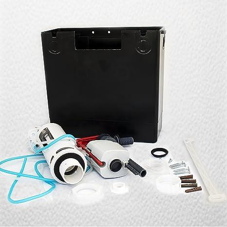 Macdee KAYLA CPL51CP Compact II oculta de doble descarga para inodoro WC neumático para cisterna de