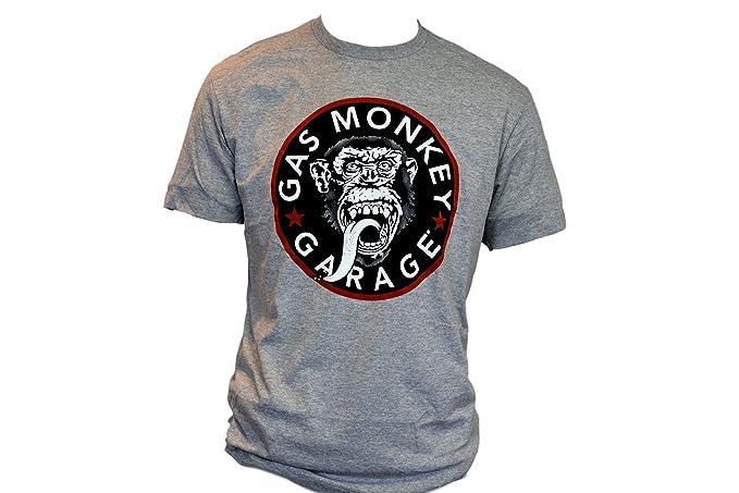 Garage T Shirts : Skull garage short sleeve shirt hemd harley davidson grau l