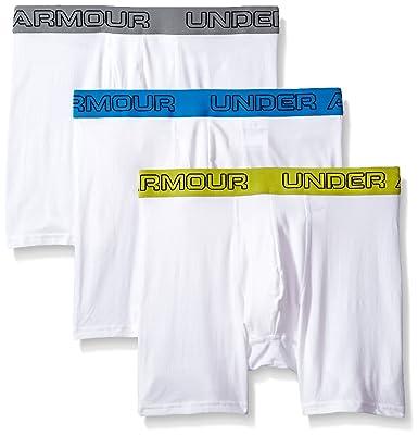 """e585b38dd6e8 Under Armour Boxerjock-3-Pack Men's Charged Cotton Stretch 6"""" Boxerjock  3-"""