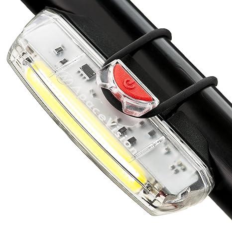 Luz de Bicicleta Delantera Recargable USB Apace Illuma ZT3000 ...