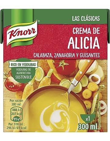 Knorr Las Clásicas Crema de Alicia - Paquete de 12 x 300 ml - Total: